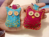 Cute Lil Owl Key Rings