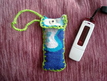 Flash Disk Cozy From Old Sock:)