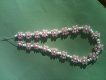 Beaded Flowers For Necklace, Bracelet, Anklet...