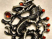 Modified Dragon Pendant