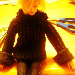 Doll Sweater from Socks