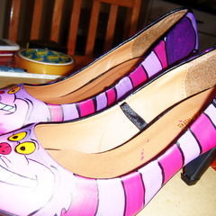 Cheshire Cat Shoes :)