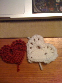 Crocheted Heart