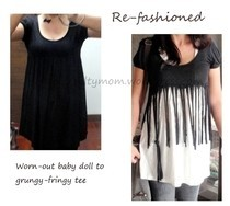 Refashion A Baby Doll T Dress