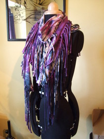 Jersey Tie Dye Scarf