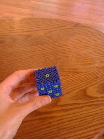 Perler Bead 3 D Dice