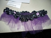 Gathered Tulle Garter