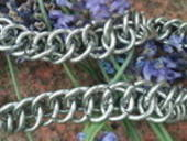 Really Chunky Steel Chainmail Bracelet