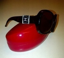 Recycled Makeup Compact Upcycled Sunnies!