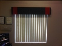 Fabric Window Cornice