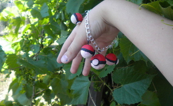 Pokeball Bracelet