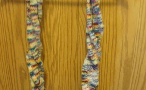 Multicolored Twistable Scarf