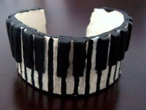 Piano Key Bangle Bracelet (And Other Jewelry)