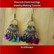 Peacock Chain Earrings
