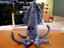 Squid Felt Plush