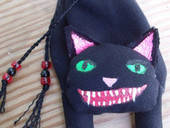 Evil Cat Money Bag