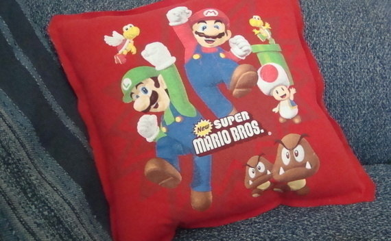 Old T Shirt To New Pillow!