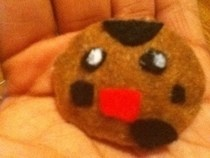 Happy Felt Cookie.!
