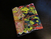 Paint Splatter Sketch Book