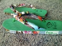 Magazine Flip Flops!