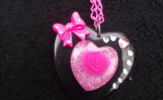 Sparkle Rose Necklace