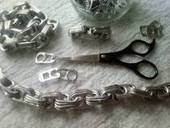 Chunky Pop Tab Purse Handles