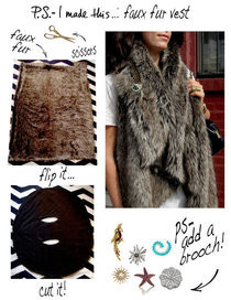 Faux Fur Vest