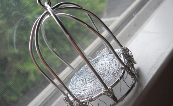 Wire Bird Cage