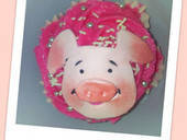 Wibbly Pig Cupcake