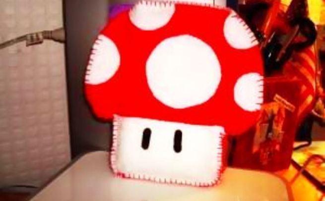 Mario Mushroom I Pod Cozy