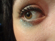 Florence And The Machine Inspired Makeup.