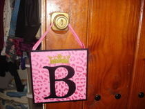 Door Hanging Monogram