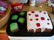 Minecraft Cake