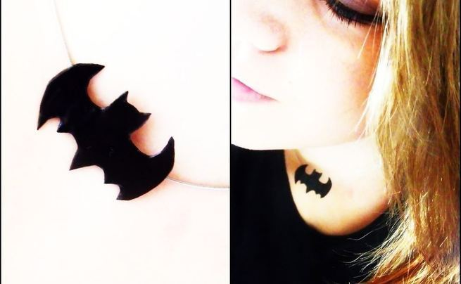 Batman Necklace