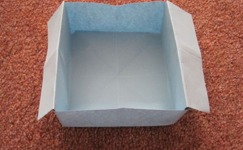 Quick Origami Disposable Trash Box