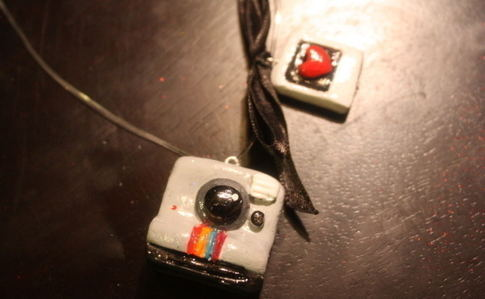 Polaroid Love Necklace