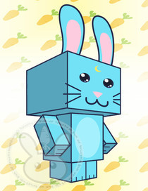 Moon Bunny Cubee