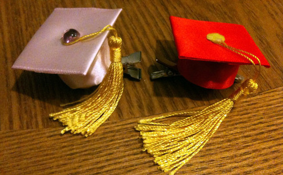 Graduation Hair Clips