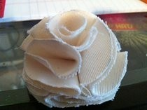 Fabric Flower Blossom