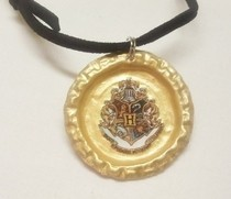 Gryffindor Bottlecap Necklace