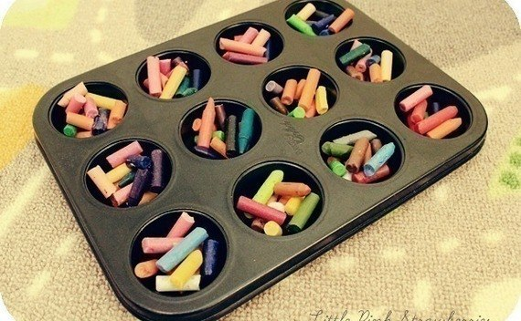 Rainbow Crayons