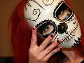 Sugar Skull Mask