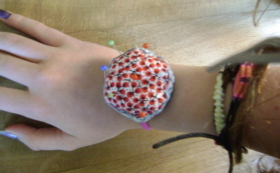 Wrist Pin Cushion!!