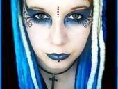 Blue Swirly Goth!