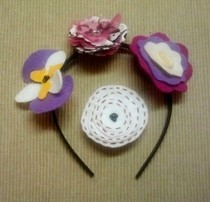 Interchangeable Headband Flowers