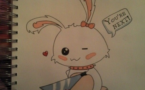 Kawaii Bunny Drawing