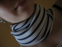 How To Make A Neck Warmer From An Old Sweater