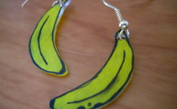 Banana Earings!