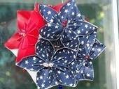 A Patriotic Kusudama Ball