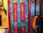 Decoupage Door